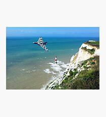 XH558 Beachy Head Pass Photographic Print