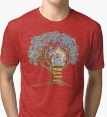 Live Simply, Love Trees Tri-blend T-Shirt