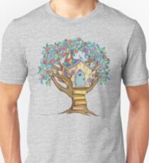 Live Simply, Love Trees Unisex T-Shirt