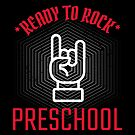 Ready to Rock this Preschool - An Edgy, Cool Graphic Tshirt for Kids by traciwithani