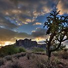 Dawn in the Superstitions by Sue  Cullumber