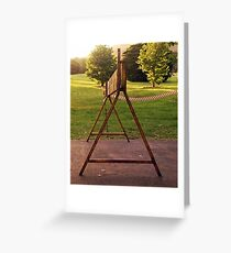 A..... the first letter of the alphabet! Greeting Card