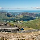Snowdon Summit Cafe by Adrian Evans
