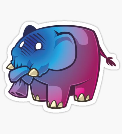 How To Shoot a Pink Elephant Sticker