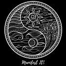 Manifest It! Yin Yang Black & White by Jaclyn Johnston
