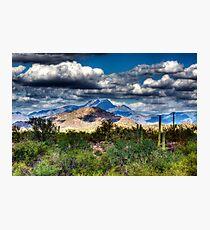 Four Peaks Skyline Fotodruck