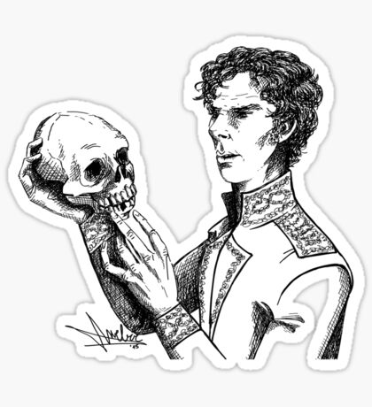 Alas, poor Yorick! Sticker
