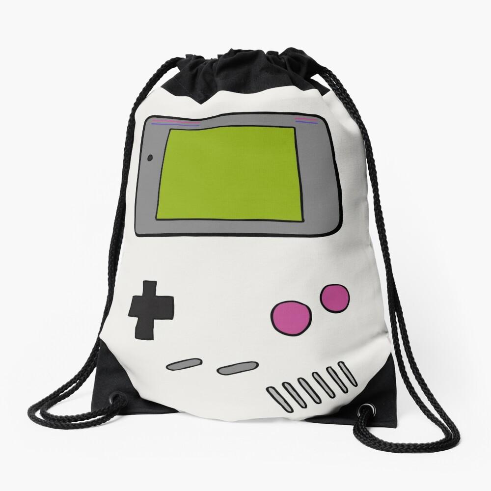 Retro Game Boy Drawstring Bag