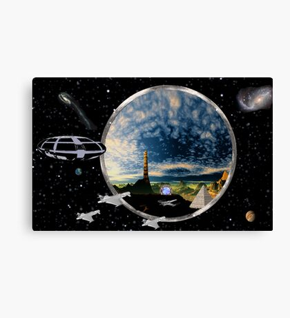 Super-Portal Sol Canvas Print