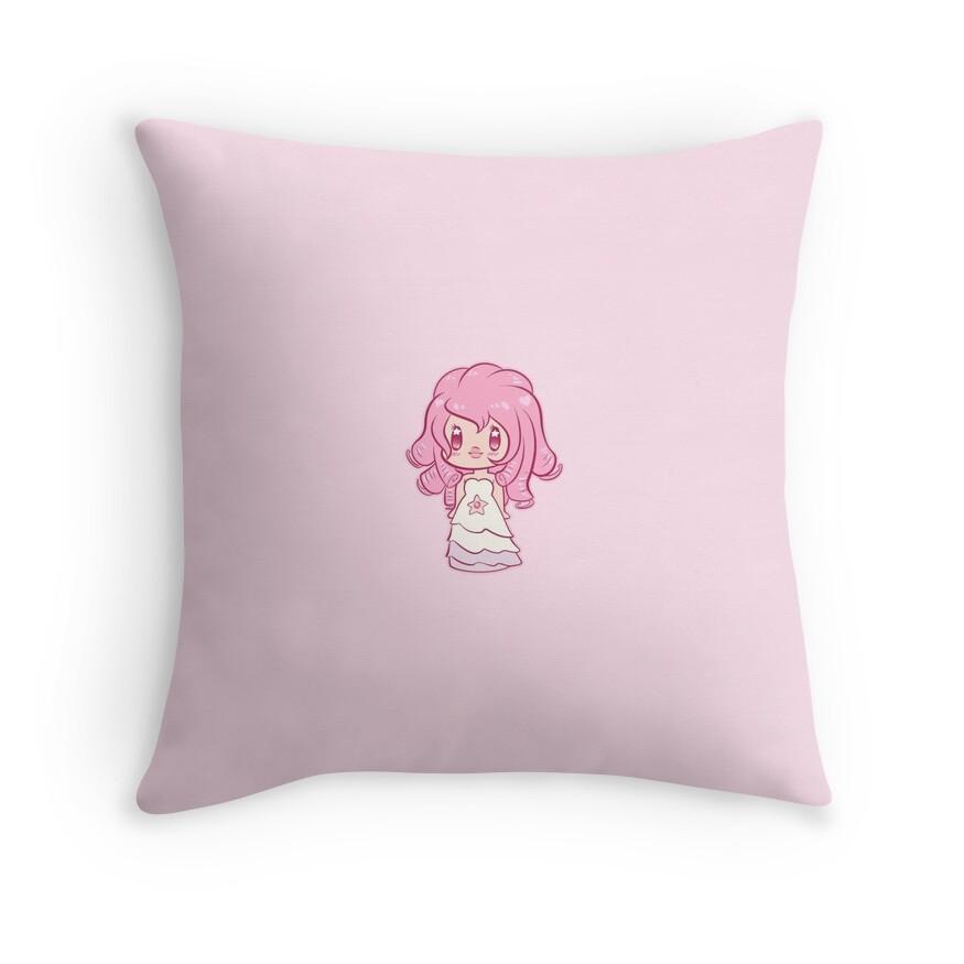 Quot Steven Universe Rose Quartz Chibi Quot Throw Pillows By