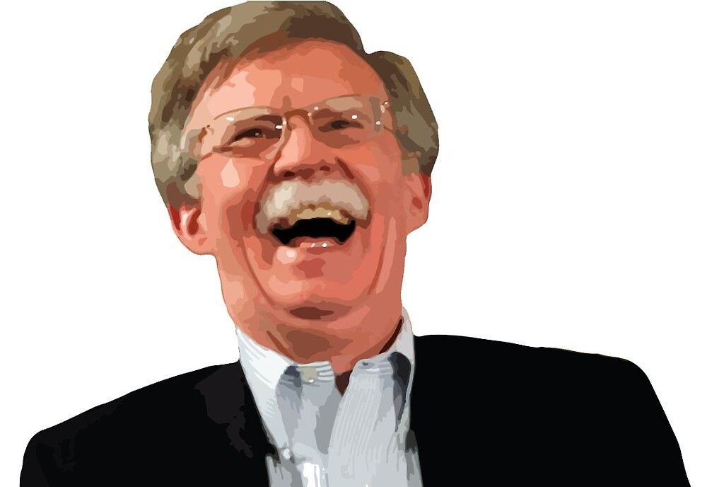 Image result for john bolton laughing""