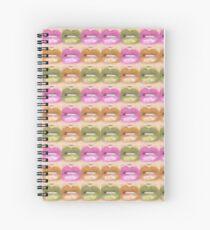 Kisses Pt.2 Spiral Notebook
