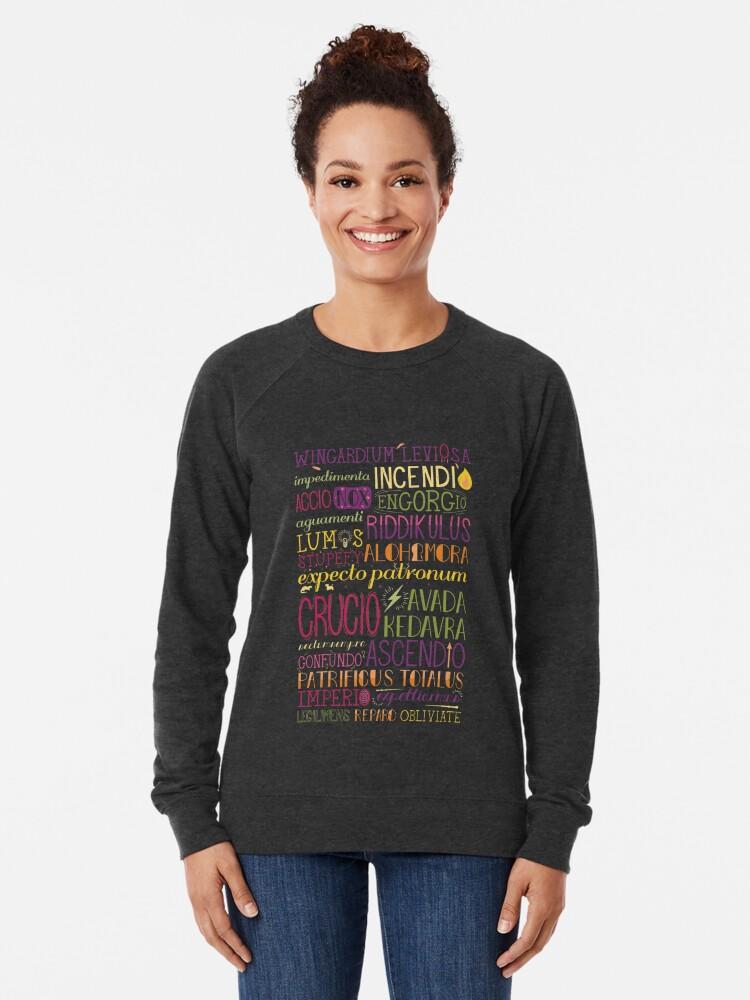 Alternate view of Spells Lightweight Sweatshirt