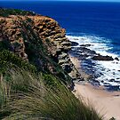 Down along the coast towards Inverloch by Andrew Clinkaberry