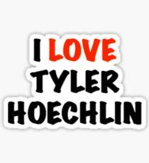 I Love Tyler Hoechlin Design Sticker