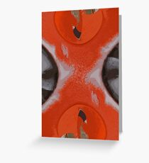 Utensil Apstract Greeting Card