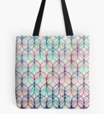 Mermaid's Braids - ein Buntstiftmuster Tasche