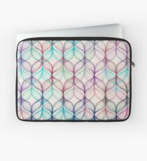 Mermaid's Braids - a colored pencil pattern Laptop Sleeve