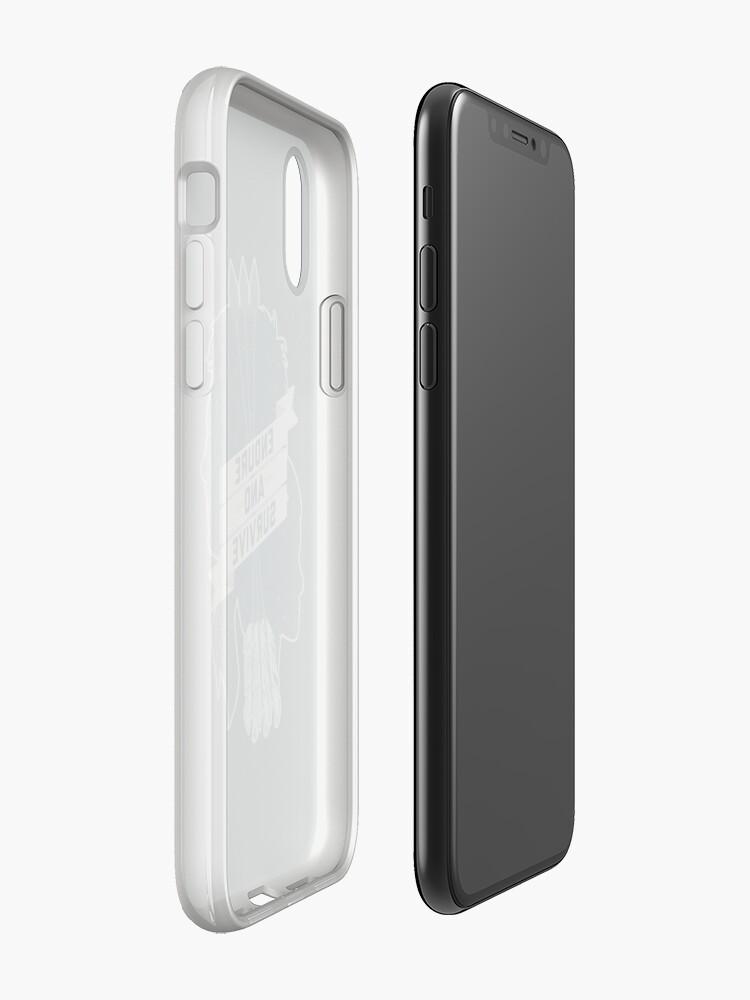 Alternative Ansicht von Ertrage und überlebe iPhone-Hülle & Cover