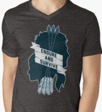 Endure and Survive Men's V-Neck T-Shirt