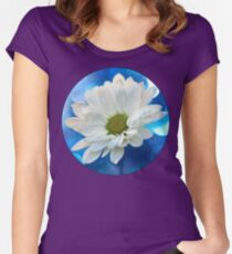 Celebrating Blue & White Women's Fitted Scoop T-Shirt
