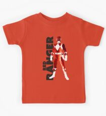 MMPR Red Ranger Print Kids Tee