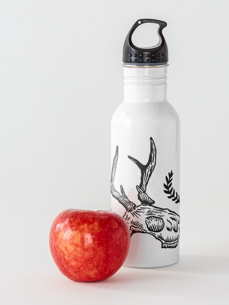 Alternate view of Deer Skull Water Bottle