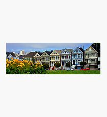 The Painted Ladies Photographic Print