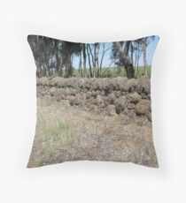 Rock wall 2 Cressy Throw Pillow