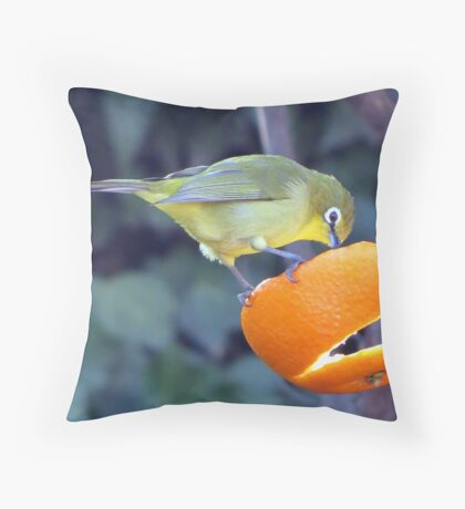 """""""What's for breakfast? """" Throw Pillow"""