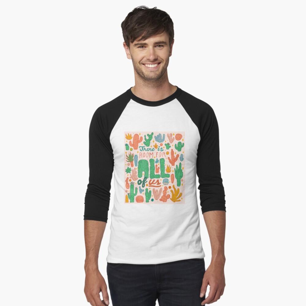 Room for All Baseball ¾ Sleeve T-Shirt