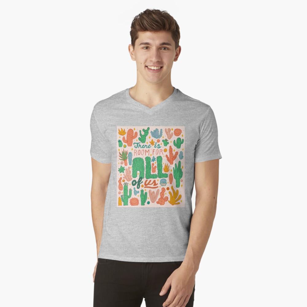 Room for All V-Neck T-Shirt