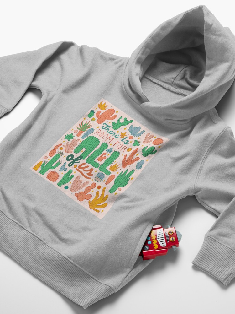 Alternate view of Room for All Toddler Pullover Hoodie