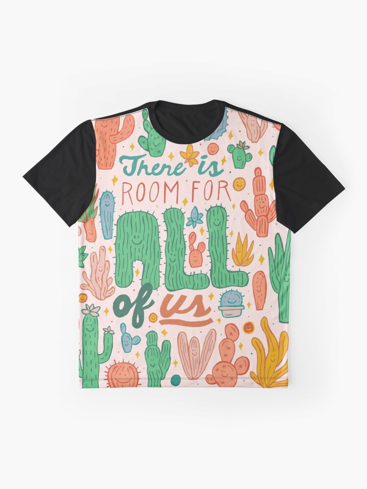 Alternate view of Room for All Graphic T-Shirt