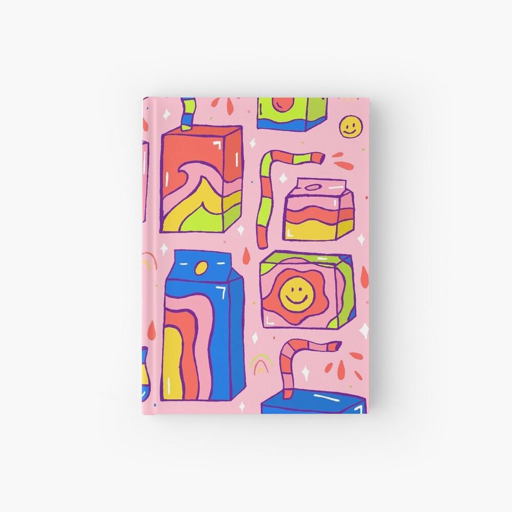 Juice Box Print Hardcover Journal