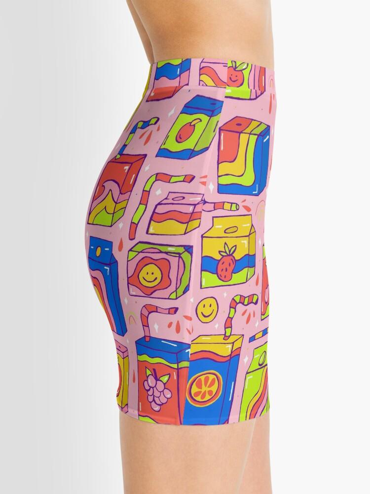 Alternate view of Juice Box Print Mini Skirt
