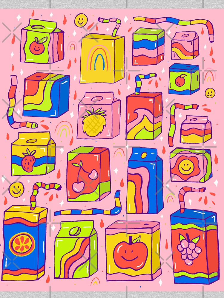 Juice Box Print by doodlebymeg