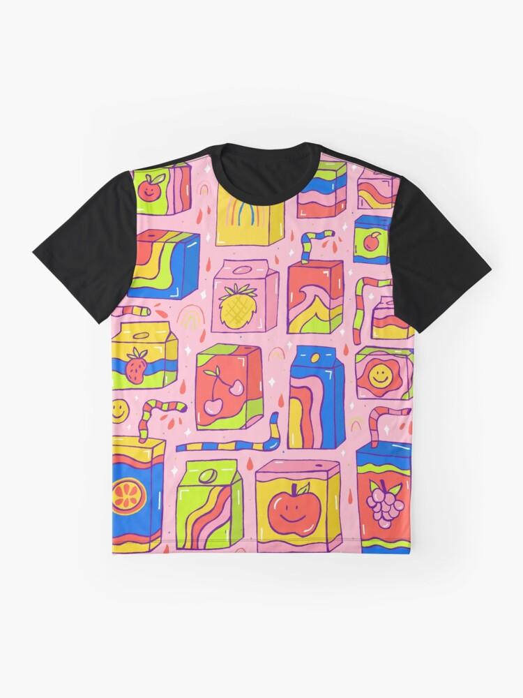 Alternate view of Juice Box Print Graphic T-Shirt