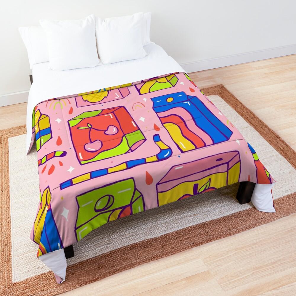 Juice Box Print Comforter