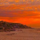 Halls Head Sunset by Peter Rattigan