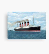 Lusitania Canvas Print