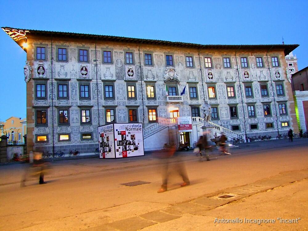 """The """"NORMALE"""" school Pisa by Antonello Incagnone """"incant"""""""