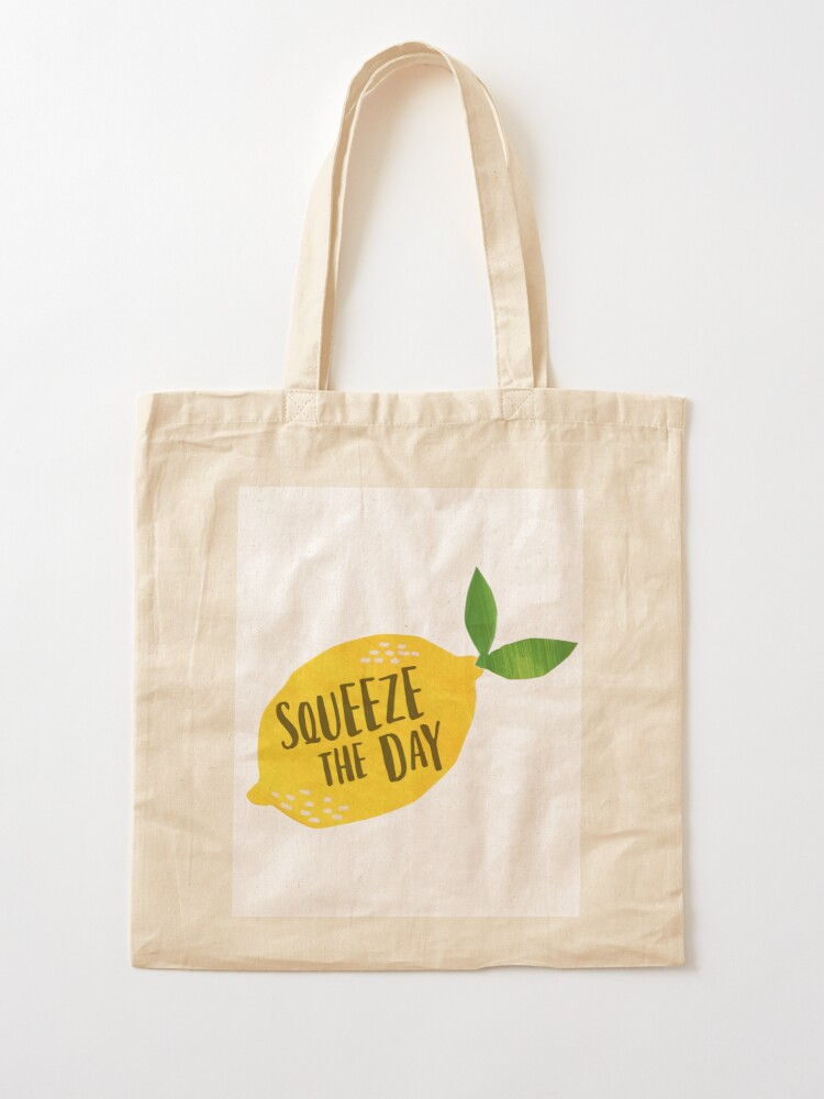Alternate view of Squeeze the Day Tote Bag