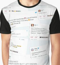 Cher Tweets Graphic T-Shirt