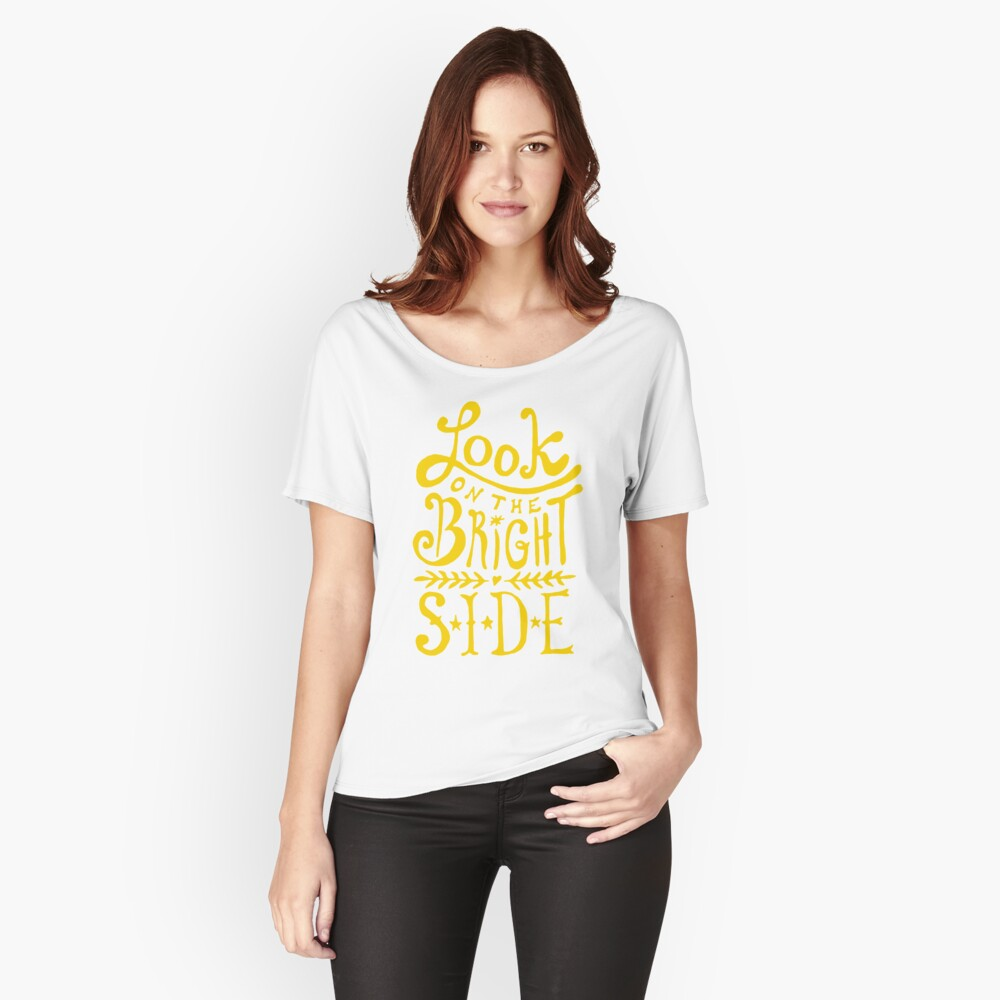 Look On The Bright Side Relaxed Fit T-Shirt