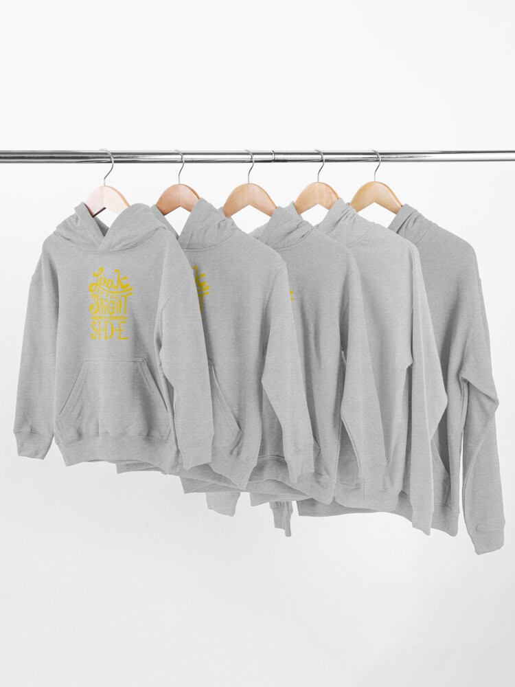 Alternate view of Look On The Bright Side Kids Pullover Hoodie
