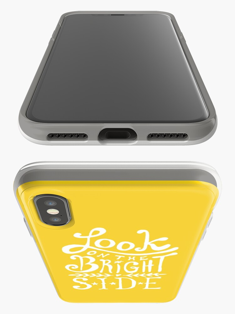 Alternate view of Look On The Bright Side iPhone Case & Cover