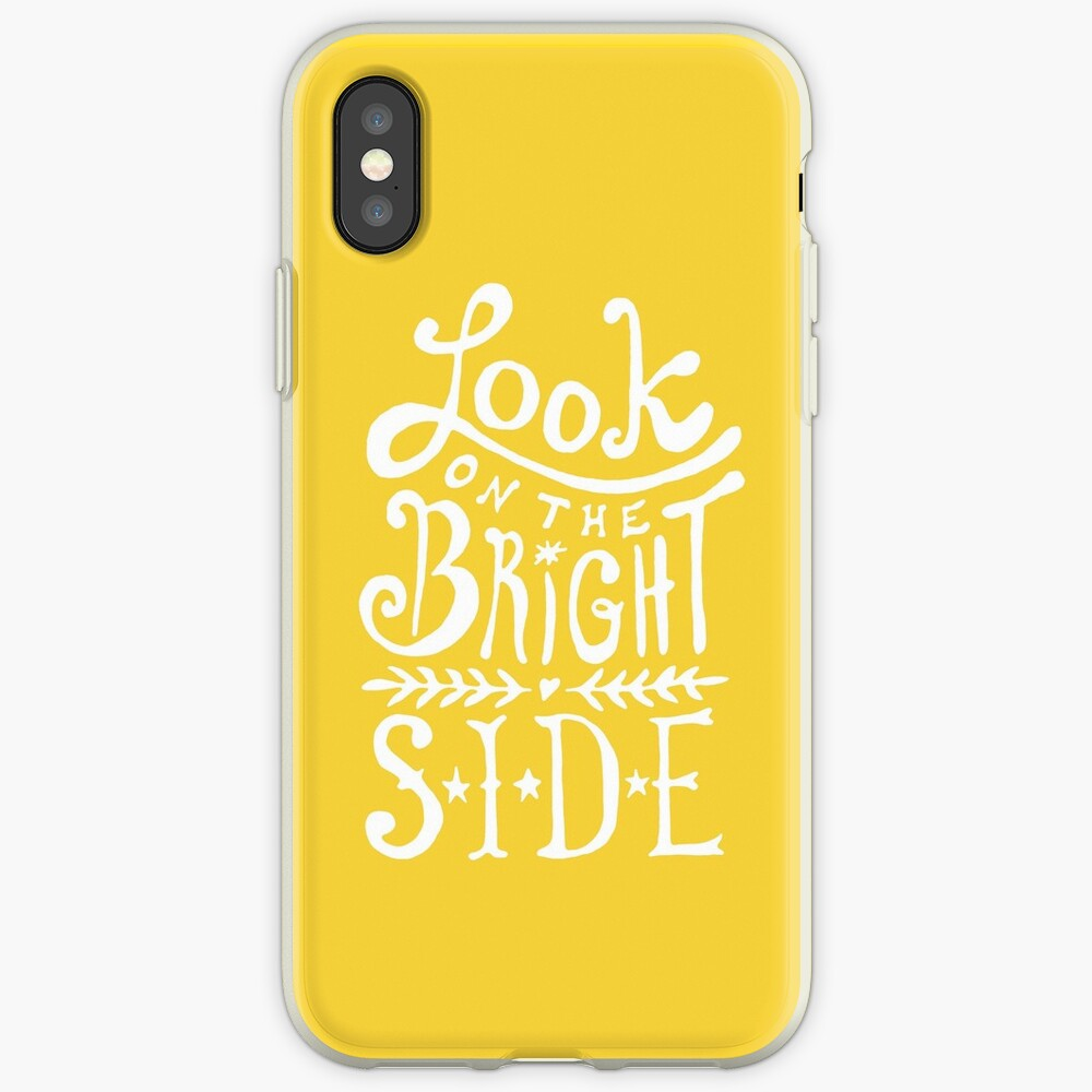 Look On The Bright Side iPhone Case & Cover