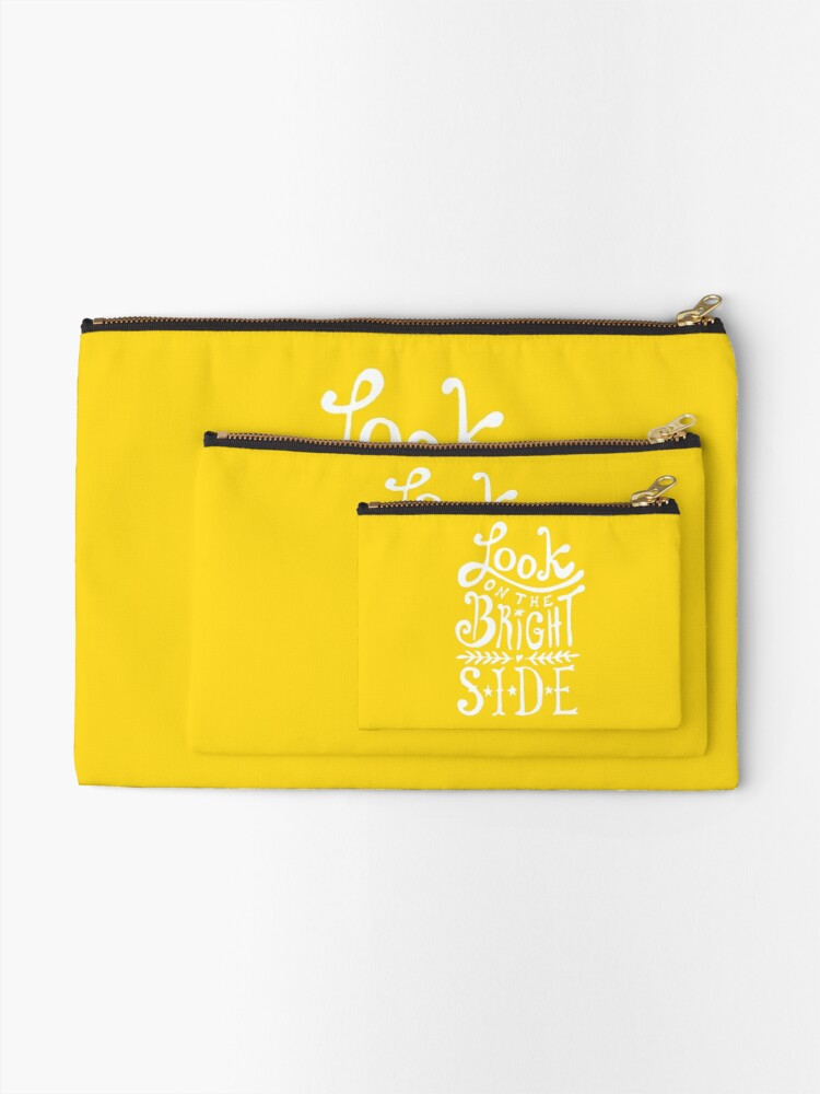 Alternate view of Look On The Bright Side Zipper Pouch