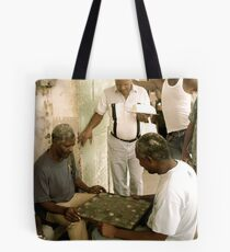 Drawing a Crowd Tote Bag